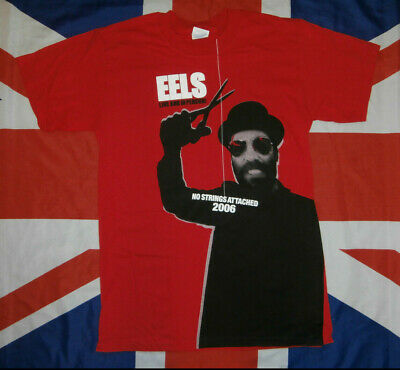 EELS Live And In Person! European Tour 2006 OFFICIAL Doublesided T-SHIRT Indie