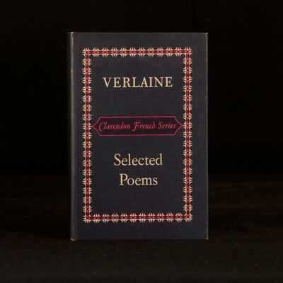 1965 Verlaine Selected Poems RCD Perman Edited Clarendon French Series Decadent