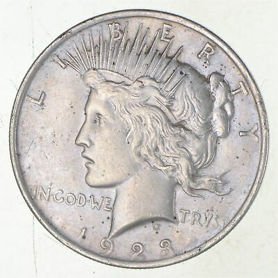 Early - 1923 - Peace Silver Dollar - 90% US Coin *791