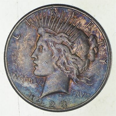 Early - 1923-S - Peace Silver Dollar - 90% US Coin *799