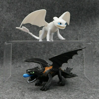 How to Train Your Dragon Toothless NightFury Light Fury Hiccup Action Figure Toy