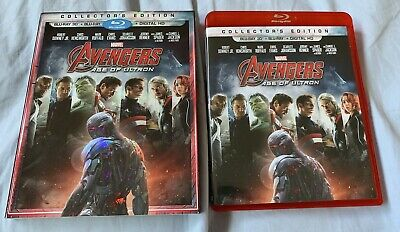 Avengers Age of Ultron Collector's Edition 3D Blu-Ray with Slipcover NO DIGITAL