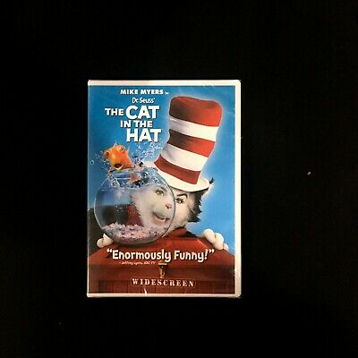 Dr. Seuss The Cat in the Hat (DVD, 2004)