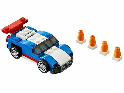 LEGO CREATOR BLUE Racer Set (31027) - 100% Complete With Instructions (Race  car)
