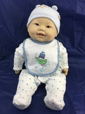 BERENGUER * LOTS TO CUDDLE *ASIAN BABY BOY DOLL *2 baby Teeth. 52CM.