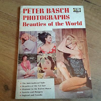 VINTAGE : PETER BASCH PHOTOGRAPHS: BEAUTIES OF THE WORLD  No 377 1958
