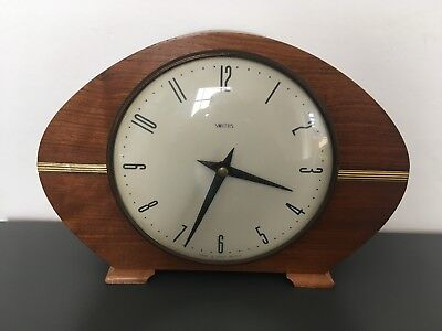 Vintage Smiths Art Deco Retro Mantle Clock