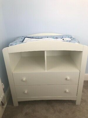 Baby Changing Table Mothercare Padstow White