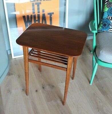 Retro Mid-Century Side Table, or useful plant stand!