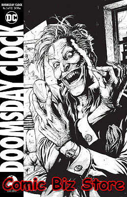 Doomsday Clock #5 (Of 12) (2019) Final Printing Frank Variant Cover Dc Universe