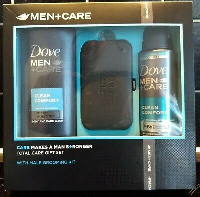 Dove Men+ Care Gift Set Male Grooming Kit (Manicure).+ Body Wash. UK Seller. New