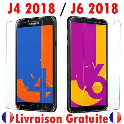 Protection Ecran Pour Samsung Galaxy J4 J6 2018 Plus Screen Glass Cover Film