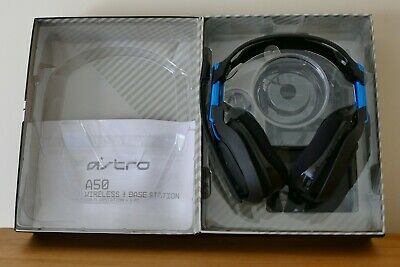 Astro A50 Gen 3 PS4/PC Wireless Gaming Headset Very Good Condition