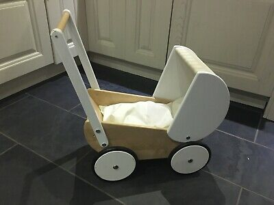 Little White Company Wooden Pram Walker