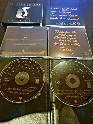 FLEETWOOD MAC - THE CHAIN - 1st orig issue RARE - SELECTION FROM 25 YEARS 2 CD