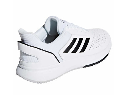 NEW Adidas Mens White Gym Sneakers Tennis Shoes w/ EVA and OrthoLite - PICK SIZE