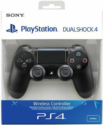 Official Sony PlayStation CONTROLLER PS4 DUALSHOCK 4 BLACK V2 new 2019