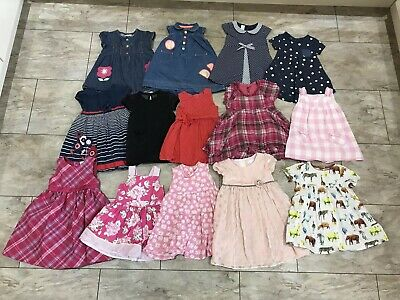 Baby Girls Summer Dress Bundle x14 - Age 12-18 Months