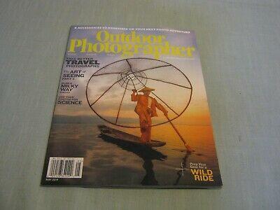 OUTDOOR PHOTOGRAPHER MAGAZINE May 2019 TAKE BETTER TRAVEL PHOTOS Art of Seeing
