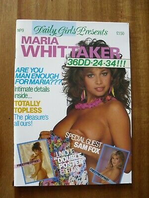 Daily Girls    No 9  Maria Whittaker   Photobook Poster still there