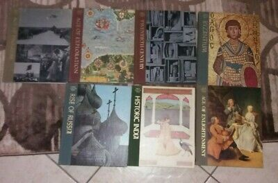 TIME-LIFE:  GREAT AGES OF MAN     7  vols -  (HC,  GC  history )
