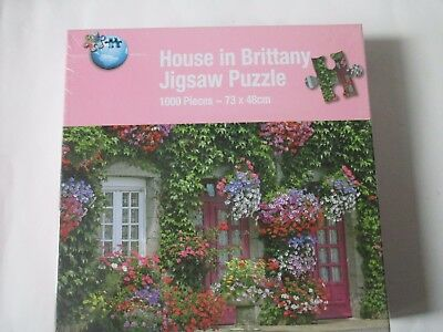 House in Brittany 1000 Piece Jigsaw Puzzle New Sealed and Unopened.