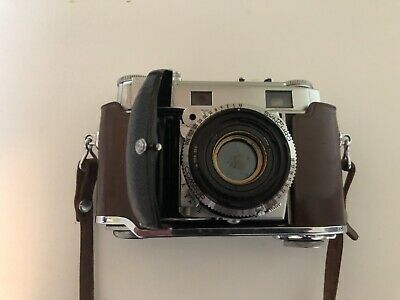 Vintage Kodak Retina II 35mm Camera w/ Ektar 50mm f3,5 Lens with Case