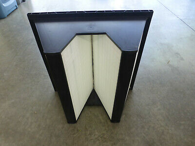 """24""""x24""""x12"""" Fiberglass V-Bank Air Filter With Merv14 And 95% Efficiency"""