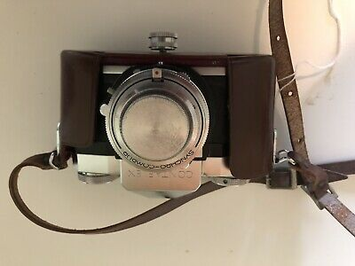 Contaflex Zeiss Ikon Made In Germany Vintage Camera with Case