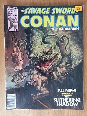 Savage Sword of Conan # 20