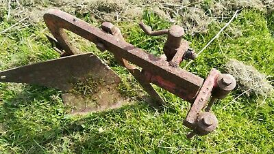 Mini garden compact tractor plough and tine plough cultivator