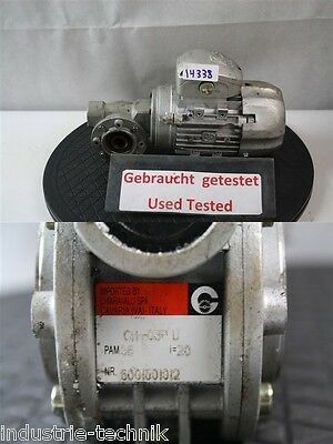 0,12 Kw 70 Min Gearmotor 380 Volt without Nameplate