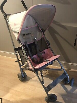 Lightweight Maclaren Volo Pushchair Raincover Holiday Stroller O