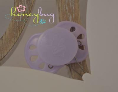 NEW COLOR Honeybug PREEMIE Magnetic Pacifier reborn art doll Lilly PURPLE pastel