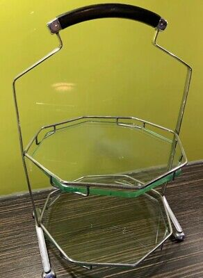 Art Deco Cake Stand, Two Tiers