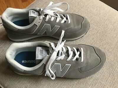 34 NEW BALANCE 574 Classic Grey Leather US Womens Size 7