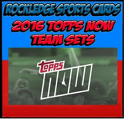 2016 Topps Now Brewers 3 Card Team Set