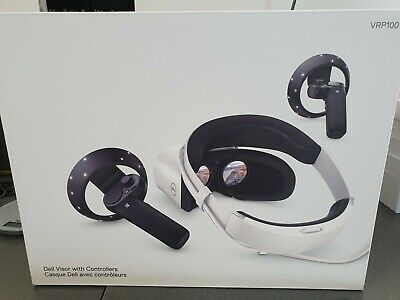 Dell Visor Windows Mixed Reality Headset with Motion Controllers VRP100 UNOPENED