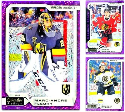 2018-19 OPC Platinum Violet Pixels **** PICK YOUR CARD **** From The List