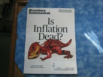 BLOOMBERG BUSINESSWEEK MAGAZINE April 22, 2019 IS INFLATION DEAD? Bloodsport NEW