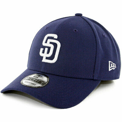 """New Era 9Forty """"The League"""" San Diego Padres Game 2017 Hat (Light Navy) MLB Cap"""