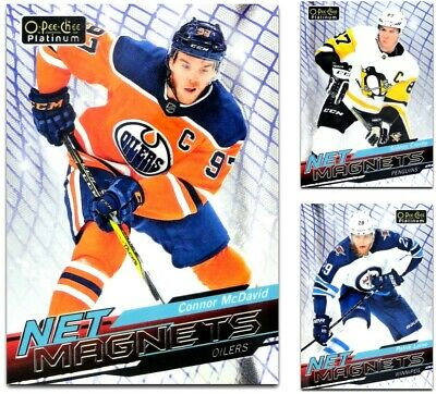2018-19 OPC Platinum Net Magnets **** PICK YOUR CARD **** From The LIST