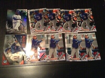 Lot (10) 2019 Bowman Chrome Refractor VLADIMIR GUERRERO BICHETTE RC SP