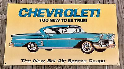 Riviera Gran Sport By Buick Vintage Tin Metal Sign AAA Sign Co.