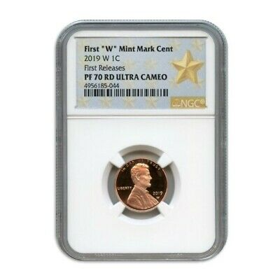 2019 W 1C Lincoln Cent Ngc Pf70 Rd Ultra Cameo First Releases 4956185-044