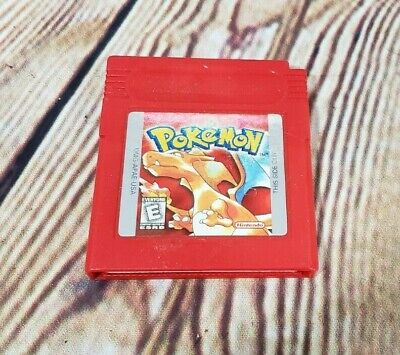 Pokemon: Red Version (Nintendo Game Boy, 1998) Authentic Tested Working