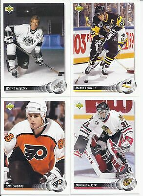 1992-93 Upper Deck Low Series Hockey Cards (221-440) -  Pick From List
