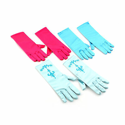 1 Pair Girls Kids Fancy Gloves Cosplay Princess Queen Gloves Xmas Gift Party