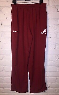 e3469ab594f New Nike Alabama Crimson Tide Therma Sideline Performance Pants Crimson XL
