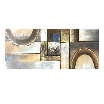 Modern Abstract Hand Painted Art Canvas Oil Painting Home Decor (With Frame)